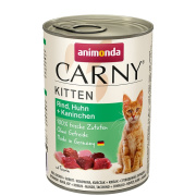 animonda Carny Kitten Rind, Huhn und Kaninchen 400g