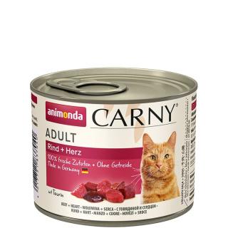 animonda Carny Adult Rind und Herz 200g