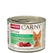 animonda Carny Kitten Rind, Huhn und Kaninchen 200g