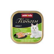 animonda Vom Feinsten Adult Pute, Hühnchenbrust und...