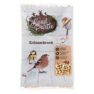 LandPartie Wildvogel Erdnussbruch 1kg