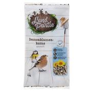 LandPartie Wildvogel Sonnenblumenkerne gestreift 1kg Beutel