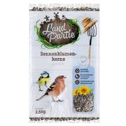 LandPartie Wildvogel Sonnenblumenkerne gestreift 2,5kg...