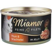 Miamor Feine Filets Katzennassfutter Thunfisch und...