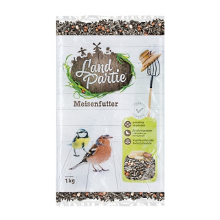 LandPartie Wildvogel Meisenfutter 1kg Beutel