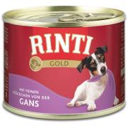 Rinti Hundenassfutter Gold mit Gans 185g