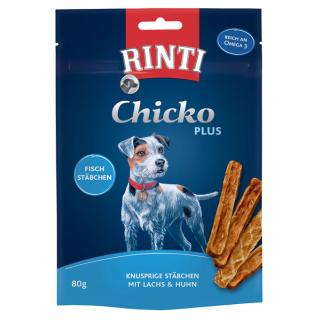 Rinti Extra ChickoPlus Lachs & Huhn 80g